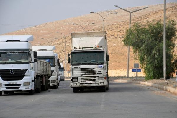 BM'den İdlib'e 41 TIR insani yardım