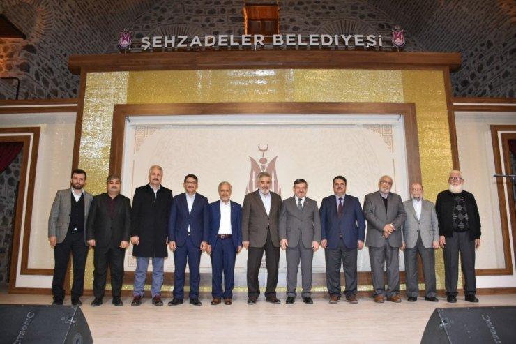 Manisa'nın manevi mimarı Şehzadeler'de anıldı