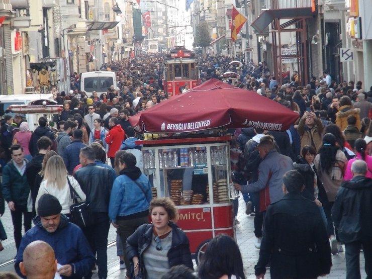 İstanbul'da kış ortasında şaşırtan hava