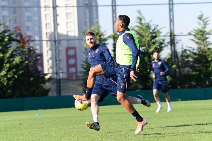 Başakşehir, Konyaspor maçı hazırlıklarını sürdürdü