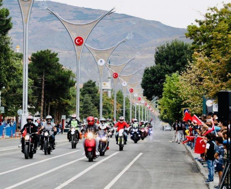Erzincan Motosiklet Kulübü 7. yaşını kutladı