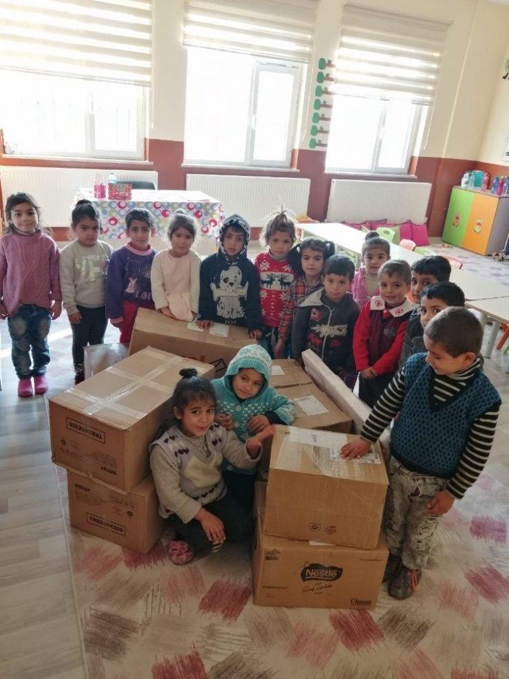 Samsun'dan Muş'a eğitim desteği