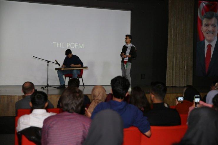 Etkinlik Serisi kapsamında Filistin Günü yapıldı