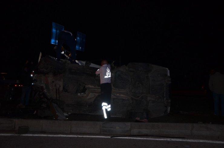 Kozan'da Trafik Kazası 1 Ölü 4 Yaralı