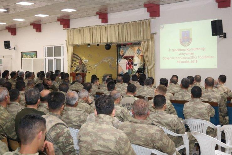 Güvenlik korucularına yönelik seminer verildi