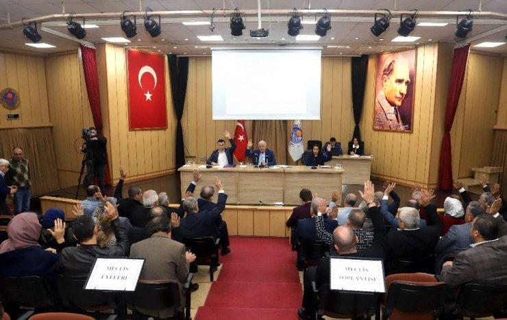 Akdeniz Belediye Meclisi yılın son toplantısını yaptı