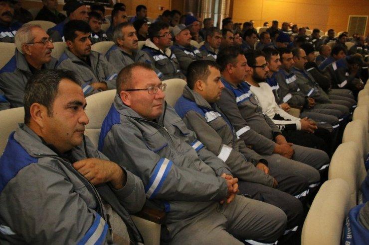 Vektörel mücadele ekibine iş sağlığı eğitimi