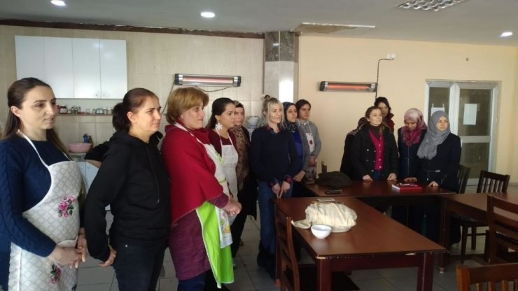 Başkan Yardımcısı Berker'den kursiyerlere ziyaret