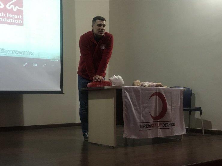 Sultanhisar MYO'da temel ilk yardım eğitimi verildi