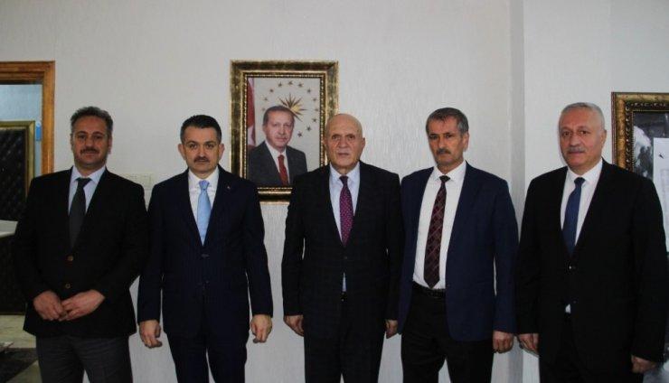Bakan Pakdemirli'den Başkan Pekmezci'ye ziyaret