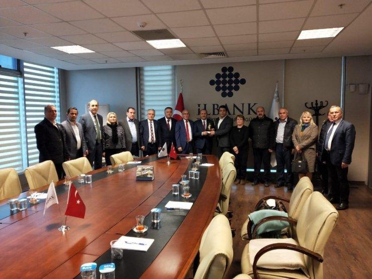 Batı Karadeniz Birliği İller Bankası'na ziyarette bulundu