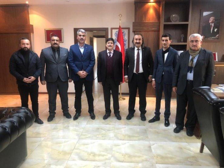 Bitlis Medeniyet Platformundan BEÜ Rektörüne ziyaret