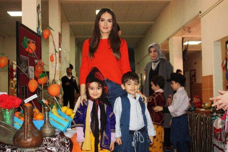 Anaokulu öğrencileri Türkiye'yi tanıyıp tanıttı