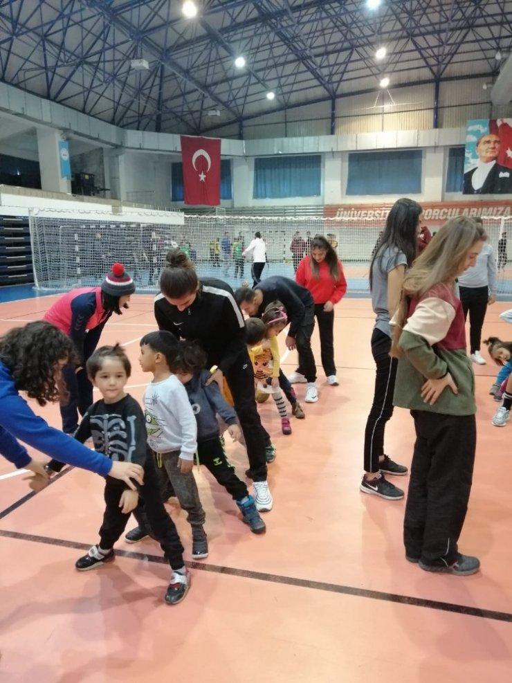 ERÜ Spor Bilimleri 55 öğrenciyi misafir etti