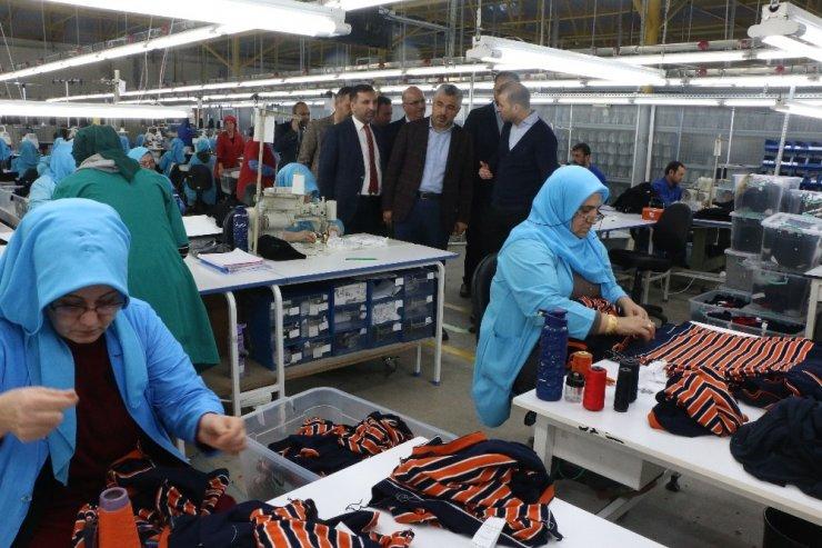 """Başkan Aksu: """"Samsun'da istihdam ve üretim artıyor"""""""