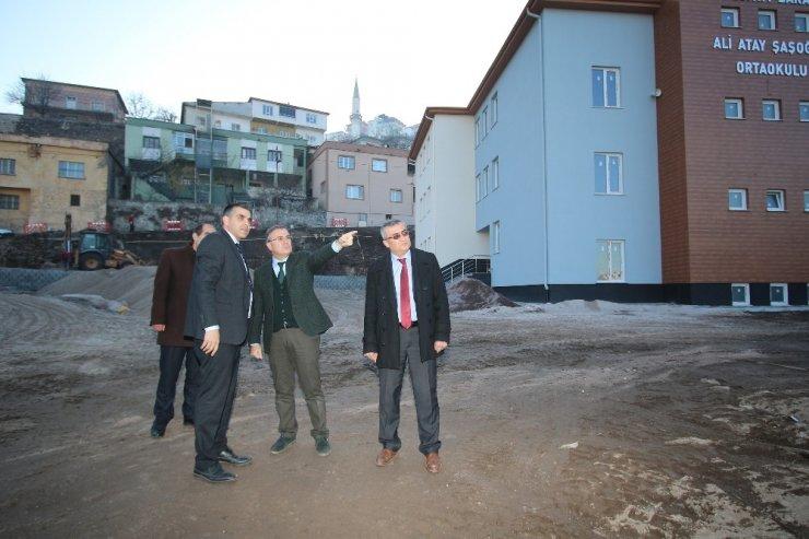 Kentsel dönüşüm projesi modern sosyal donatılarıyla yükseliyor