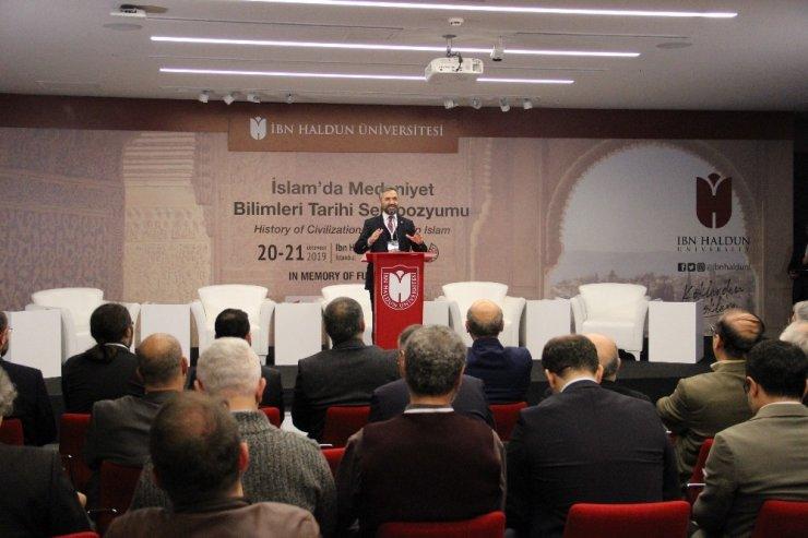 Prof. Dr. Recep Şentürk, ''2019 Fuat Sezgin Yılı kapsamında 817 etkinlik gerçekleştirildi''