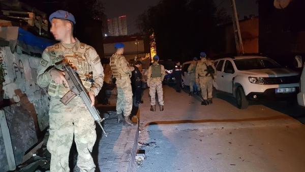 Jandarmadan hırsızlıklara gece yarısı baskını