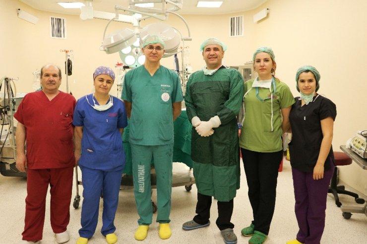 Kahramanmaraş'ta ilk kez atardamardan by-pass ameliyatı yapıldı