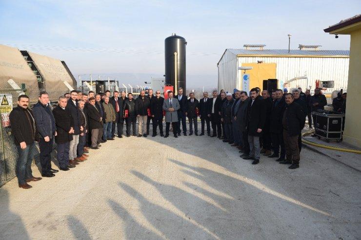 Taşköprü'ye sabit doğalgaz verilmeye başlandı
