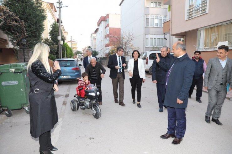 Başkan Söğüt, Mimar Sinan Mahallesinde incelemelerde bulundu
