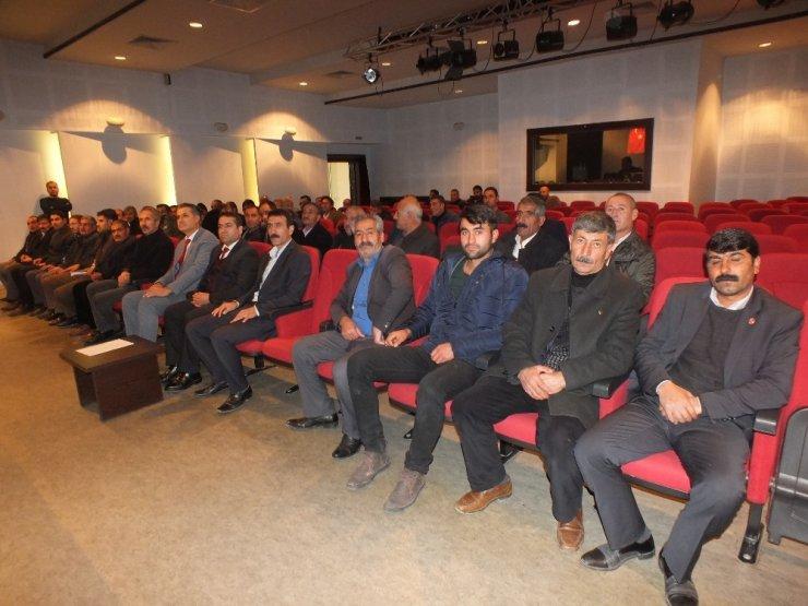 Malazgirt'te SYDV mütevelli heyeti seçimi