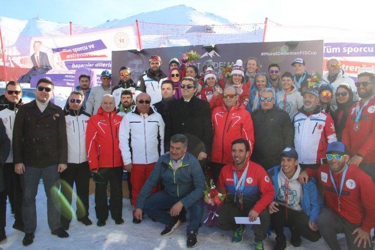 Palandöken'de FIS Cup Müsabakası sona erdi