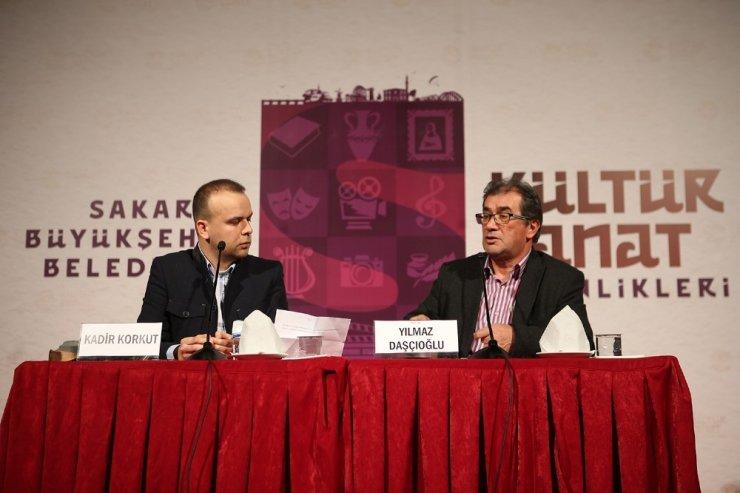 Yazar Daşçıoğlu kitabını AKM'de tanıttı