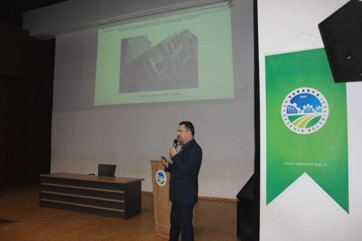 SUBU'de 'Deprem Farkındalık Paneli' düzenlendi