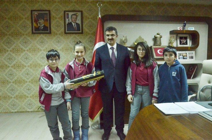 Saltukbey Ortaokulu Robotik Kodlama Proje ekibinden sosyal duyarlılık örneği