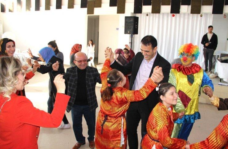 Silifke'de otizmli çocuklar için eğlence düzenlendi