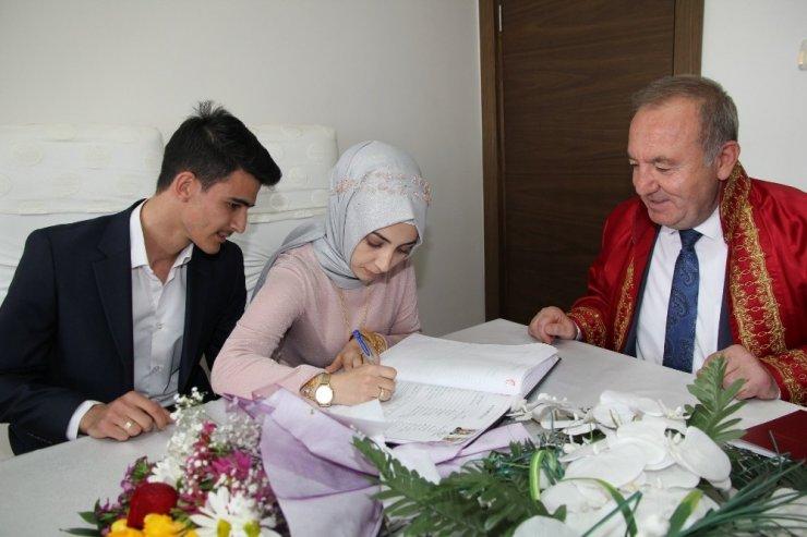 Sungurlu'da 2019 Yılında 244 Çift Evlendi