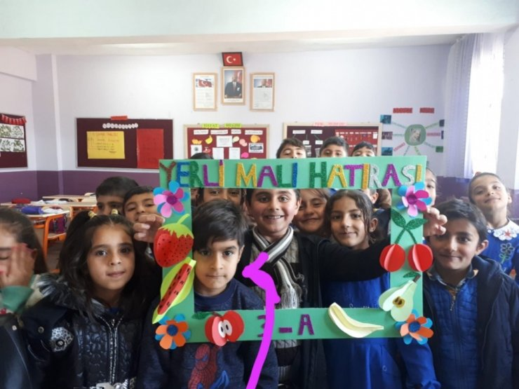 Taşlıçay'da Yerli Malı Haftası kutladı