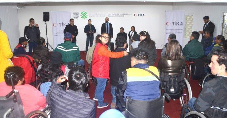 TİKA'dan Meksika'da engellilere destek