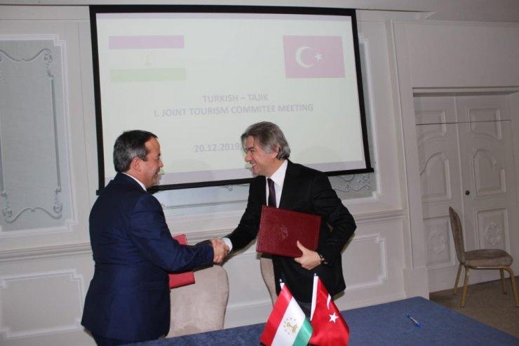 Türkiye-Tacikistan 1. Turizm Çalışma Grubu Toplantısı İstanbul'da gerçekleştirildi