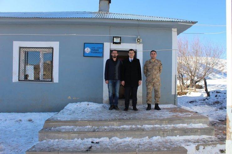 Kaymakam Aydın'dan okul ziyareti