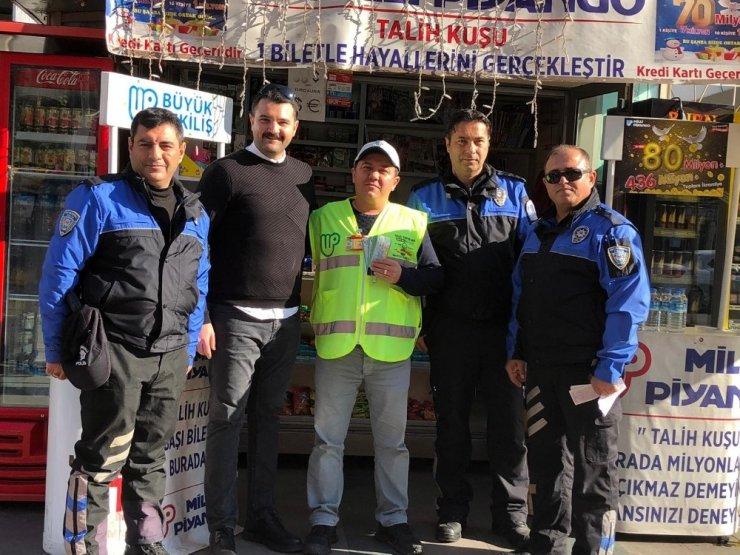 Antalya polisi sahte Milli Piyango ile ilgili vatandaşları bilgilendirdi