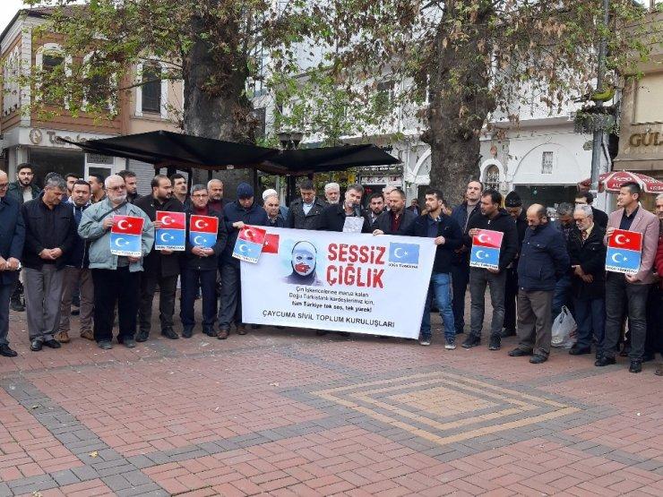 Doğu Türkistan vatandaşlarına destek için biraraya gelindi