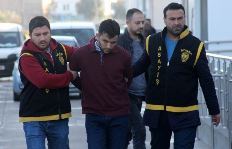Keleşle iş yeri tarayan zanlı tutuklandı
