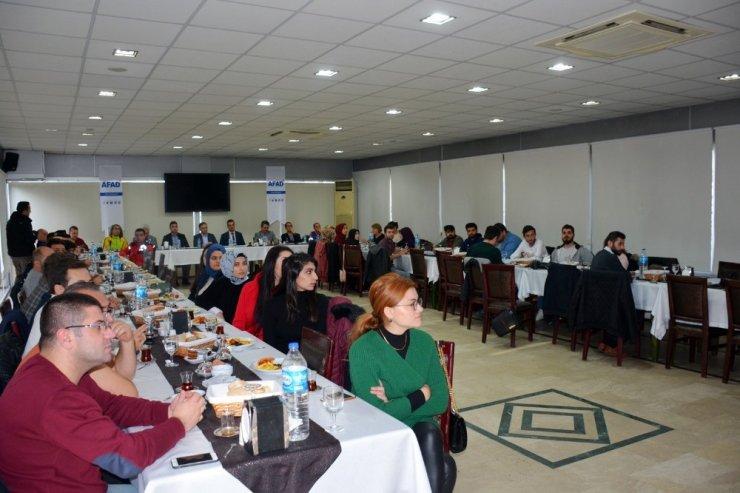 """""""AFAD Gönüllülük Projesi"""" bilgilendirme toplantısı"""