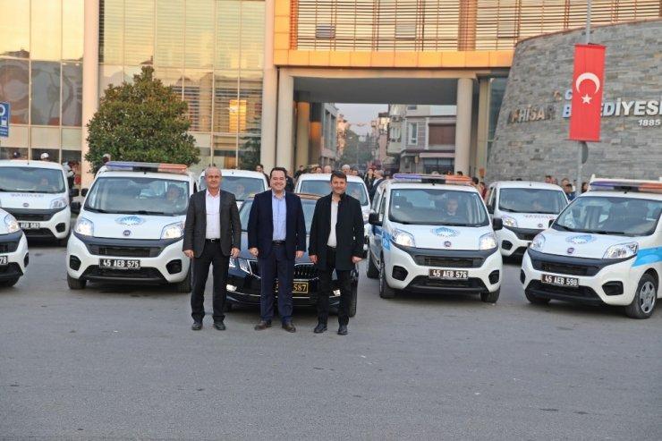 Akhisar Belediyesi tasarruf yaparak araç filosunu genişletti