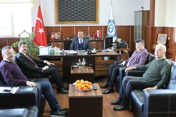 Fillikçioğlu'ndan ADÜ Nazilli İİBF Dekanlığı'na ziyaret