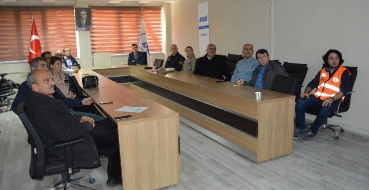 TAMP bilgi yönetimi izleme ve değerlendirme toplantısı yapıldı
