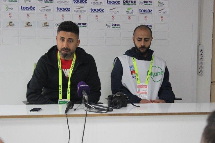 Hatayspor-Adanaspor maçının ardından