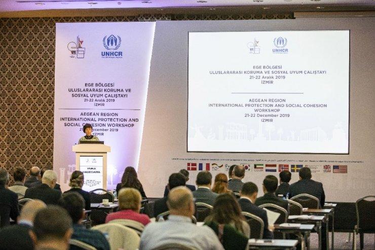 BM ile Ege Belediyeler Birliğinden mülteciler konusunda ortak çalışma