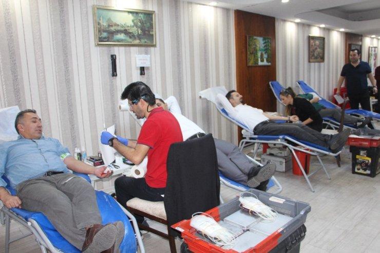 Muradiye MTAL'de kan bağışı