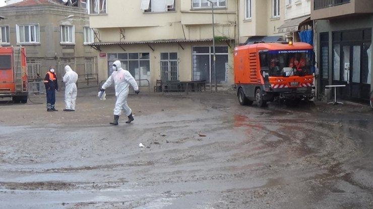 Büyükada'da 'Fayton Bekleme Meydanı' temizleniyor