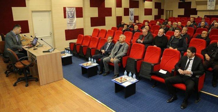 Edirne'de görev yapan Kalorifer Ateşleyicilerine eğitim verildi