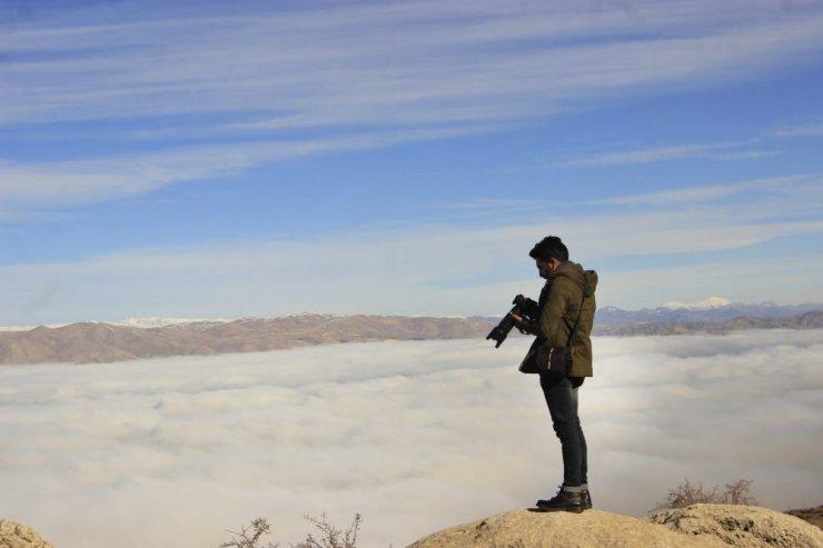Sis görsel şölen sundu, fotoğraf tutkunları Harput'a geldi