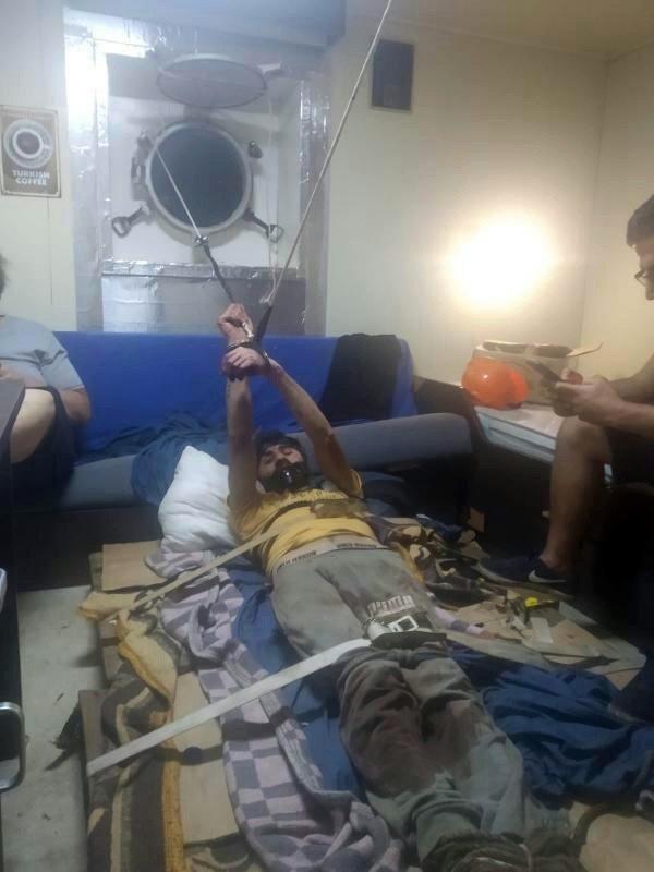 Hint Okyanusu'ndaki Türk gemisinde dehşet